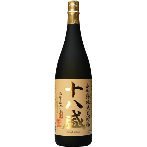 十八盛 山田錦純米大吟醸 1800ml