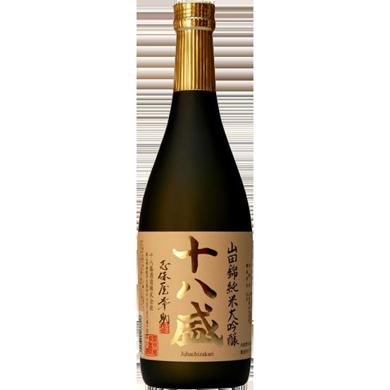 十八盛 山田錦純米大吟醸 720ml